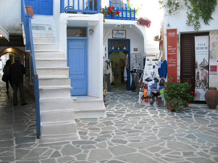 Walking in Old Naxos-Town
